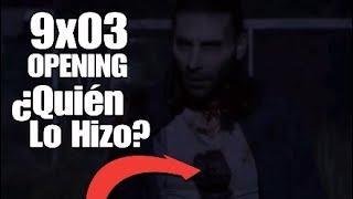 The Walking Dead 9x03 Primera Escena. Quién Atacó a Justin?