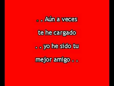 Nadie te ama como yo (Karaoke de Martin Valverde)