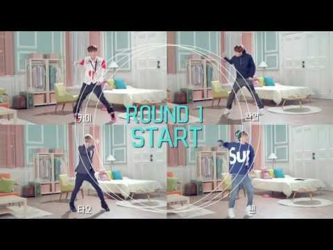 EXO -  SKT LTE ads (EXO vs EXO) Dance Battle Round 1-Kai Chanyeol Tao Chen [HD]