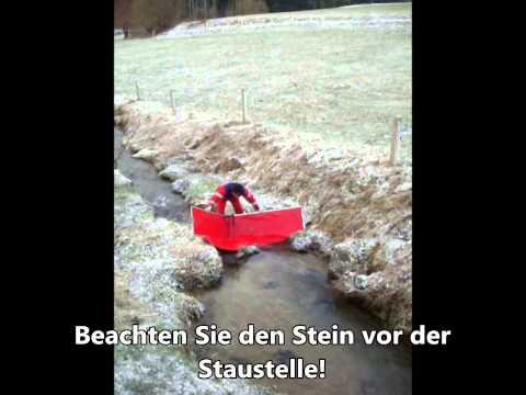 Vorführungen der Mobilen Staustelle Biber in Ubstadt-Weiher, St. Georgen - Peterzell und Teisnach