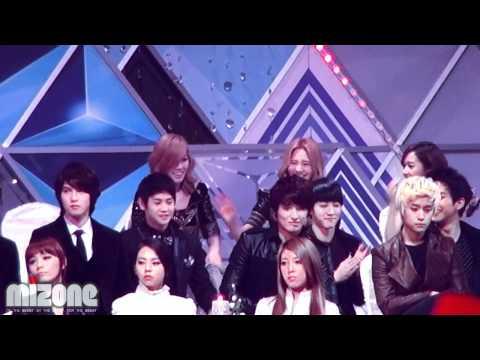 [Fancam] 111229 BEAST Yoseob & Kikwang @ 2011 SBS Gayo Daejun
