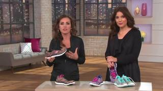 Skechers Space-dyed Sneakers with Memory Foam - Whirl Wind on QVC