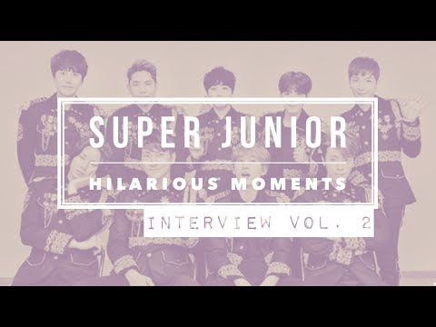 SUPER JUNIOR Hilarious Moments [Part 9] - Interview Edition VOL. 2