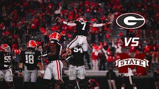 #13 Georgia Highlights Vs. Mississippi St 2020 | CFB Week 12 | (Scott Howard Radio Call)
