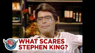 Stephen King on what scares him, 1986