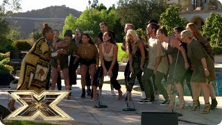 LMA Choir Hold Back The River at Robbie Williams' house | Judges' Houses | The X Factor UK 2018