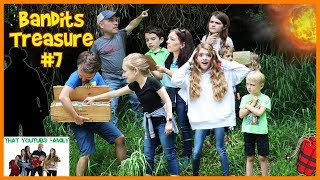 Rescue Us! Treasure Hunt - Search For The Bandits Cash💰 Ft. The Beach House / That YouTub3 Family