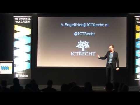 Arnoud Engelfriet (ICT recht)| Nieuwe regels voor Webwinkeliers |Webwinkel Vakdagen 2013