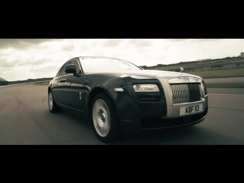 New Rolls Royce Ghost Silent at 140mph Car Commercial 2011 - Carjam TV HD Car TV Show