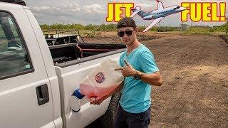 We Put JET FUEL In Our Diesel Truck!