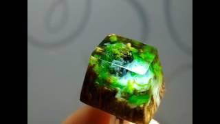 Amazon Rainforest Keycap