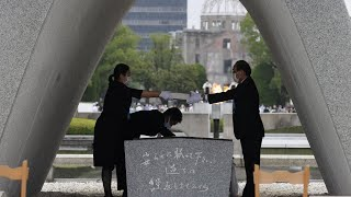 Survivors gather in Hiroshima to mark 75th anniversary of atomic bombing