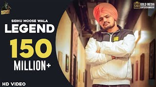 LEGEND - SIDHU MOOSE WALA | The Kidd | Gold Media | Latest Punjabi Songs 2020