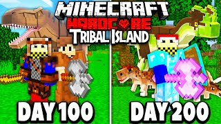 We Survived 200 Days on a HARDCORE TRIBAL Island...