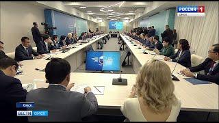 В Омске накануне завершил работу XVI межрегиональный форум сотрудничества России и Казахстана