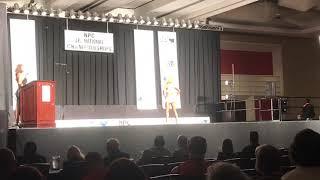 Erin Johnston Afro Circus Fitness Routine 2018 NPC Jr Nationals