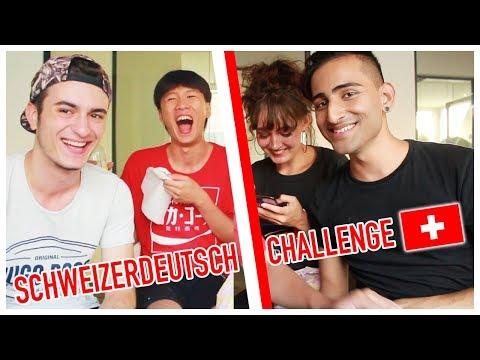 Language Challenge 3.0 | SCHWEIZERDEUTSCH 🇨🇭 (LACHGEFAHR)