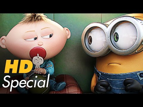 DIE MINIONS Trailer & Filmclips Deutsch German (2015)