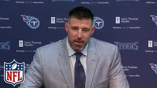 Mike Vrabel Introduced as Tennessee Titans Head Coach | NFL Press Conference