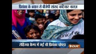BJP leader's sensational comments against Priyanka Chopra..