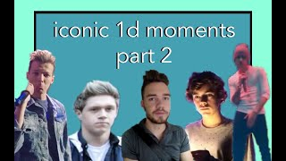 Iconic and Funny One Direction Moments part 2