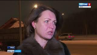 Последствия снегопада коммунальные службы Омска стараются устранить в кратчайшие сроки