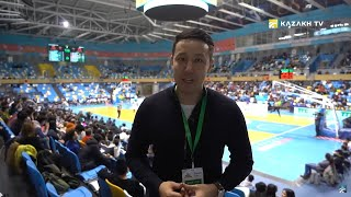 "Reporting by ""Kazakh TV"" from home matches of the men's National basketball team of Kazakhstan"