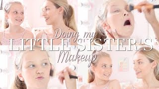 Doing My Little Sister's Makeup! With Coco's World | Freddy My Love