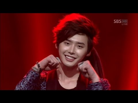Lee Jong Suk - Trouble Maker (New MC performance) [SBS Inkigayo 2012.06.03]