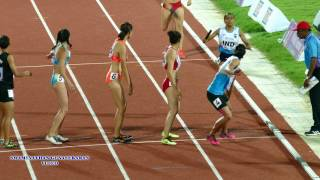 India Beats Vietnam  and Wins WOMEN'S  4X400m RELAY  FINAL. 22nd ASIAN ATHLETICS CHAMPIONSHIPS-2017