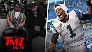 NFL Star Gets His First Tattoo At 29!   TMZ TV