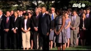 VTC14_Nước Mỹ tưởng niệm 14 năm vụ khủng bố 11/9