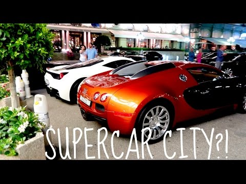WHY MONACO IS SUPERCAR CITY?!