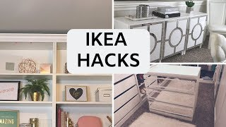 DIY IKEA FURNITURE HACKS   Build Custom Designs!