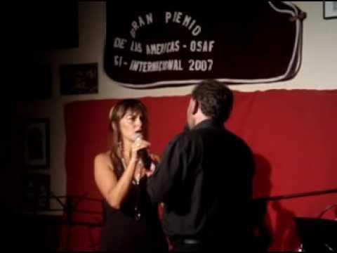 Pedacito de cielo - Vals - Patricia Fernandez y Ricardo Daniel Capilla - Club Palermo - 14-02-09