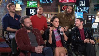 The 'Justice League' Cast Reveals What They'd Change About Their Superhero Costumes (Exclusive)