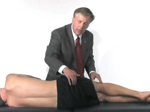 Hip & Groin Exam (3 of 7): Patient history & palpation