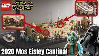Innenraum, Minifiguren & Analyse der neuen Mos Eisley Cantina! |LEGO Star Wars Set 75290! | 4K