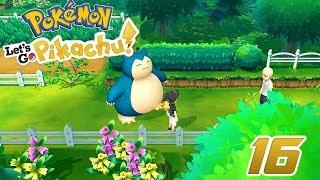 Pokémon Let's Go Pikachu #16 - EL CAMINO POKÉMON