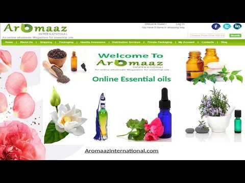 All Types of organic oils @ Aromaaz International