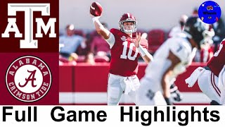#13 Texas A&M vs #2 Alabama Highlights | College Football Week 5 | 2020 College Football Highlights