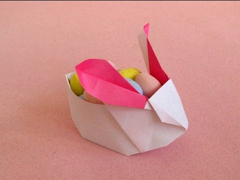 Origami Bunny Box Youtube