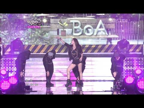 【Music Bank in 仁川】BoA (ft. EunHyuk) - Only One