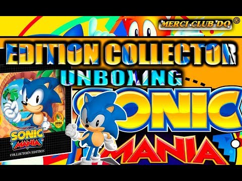 SONIC MANIA Collector Nintendo Switch #UNBOXING