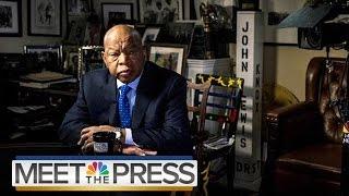 Rep. John Lewis: Donald Trump Won't Be A 'Legitimate President'   NBC News