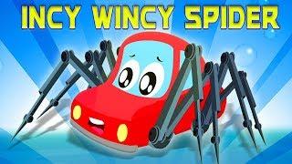 incy wincy Spinne | Spinne Lied | Incy Wincy | Little Red Car Deutschland | Deutsch Kinderlieder