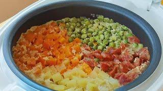 【小穎美食】今天才知道米飯可以這樣煮,簡單美味又營養,不用菜就能吃兩碗!