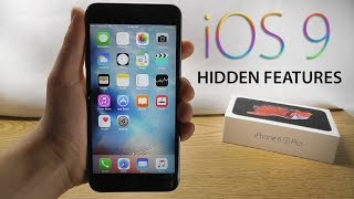 iOS 9 Hidden Features – Top 10 List