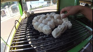 Indonesia Palembang Street Food 3638 Part.1 Pempek Panggang Bang Ariel YDXJ0778