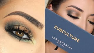 Anastasia Beverly Hills Subculture Palette Makeup Tutorial & Review